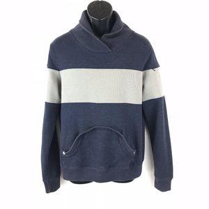 Trovata Blue & Gray  Block Colors Sweater. Size: S
